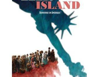 Couverture Ellis Island, Bienvenue en Amérique, Philippe Charlot, Miras, Bamboo eds. , 2020
