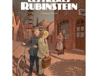couverture du livre Les frères Rubinstein, luc brunschwig , étienne le roux , loïc chevallier , Delcourt, 2020 Tome 1