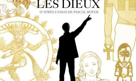 couverture ET L'HOMME CREA LES DIEUX De Joseph Béhé D'après l'essai de Pascal Boyer éditions Futuropolis 2021