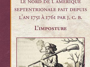 couverture Voyage au Canada dans le nord de l'Amérique septentrionale fait depuis l'an 1751 à 1761 par J. C. B., ed Septentrion, 2021