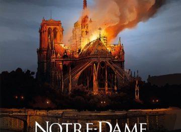 couverture Nitre Dame de Paris, la nuit du feu, Glénat 2020