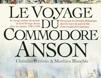 couverture Le Voyage du Commodore Anson, Futuropole, 2021