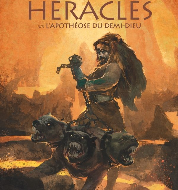 Heraclès – L'apothéose du demi-dieu Tome 3