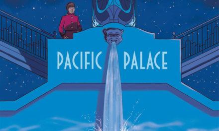 couverture Pacific palac, Christian Durieux, Dupuis, 2021