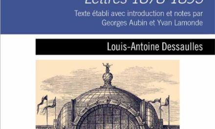 Paris illuminé : le sombre exil Lettres, 1878-1895