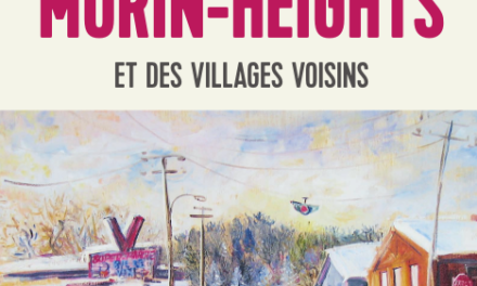 couverture L'HISTOIRE DE MORIN-HEIGHTS ET DES VILLAGES VOISINS, Donald Stewart, Septentrion 2021