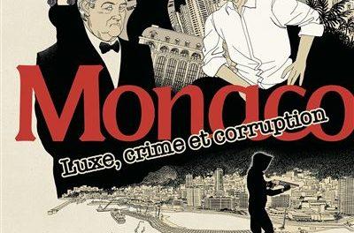 couverture Monaco, luxe, crime et corruption BD