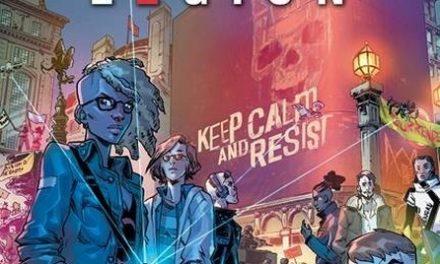 couverture Watch Dogs Legion - Tome 1 Underground Resistance, Glénat 2020
