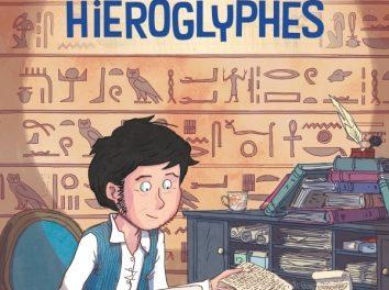 couverture Champollion, le champion des hiéroglyphes Glénat