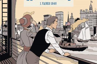 couverture La fortune des Winczlav - tome 1 : Vanko 1848