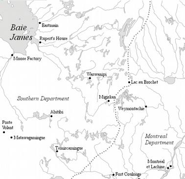 entre la Baie-James et Montréal
