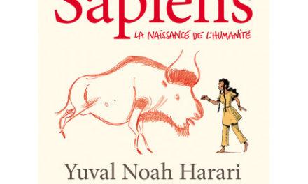 couverture Sapiens, tome 1 : La naissance de l'humanité