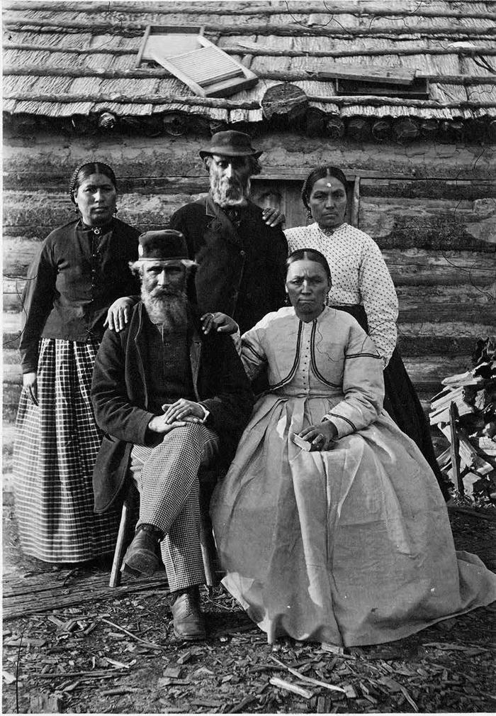 photographie (p. 116) de la famille McPherson