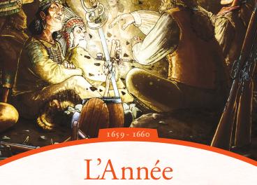 couverture MARTIN FOURNIER L'Année des surhommes Les Aventures de Radisson 1659 - 1660 Se p t e n t r i o n