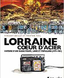 couverture Lorraine coeur d'acier BD