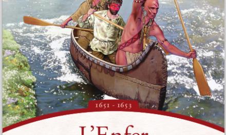 couverture MARTIN FOURNIER L'Enfer ne brûle pas Les Aventures de Radisson 1651 - 1653 Se p t e n t r i o n