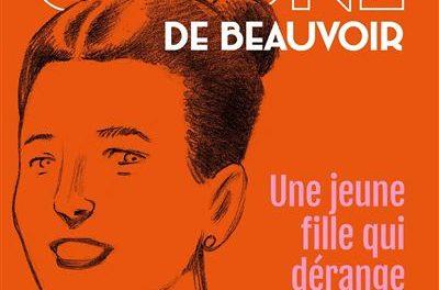 Image illustrant l'article Simone-de-Beauvoir-une-jeune-fille-qui-derange de La Cliothèque