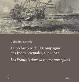 couverture La préhistoire de la compagnie des Indes orientales 1601-1622