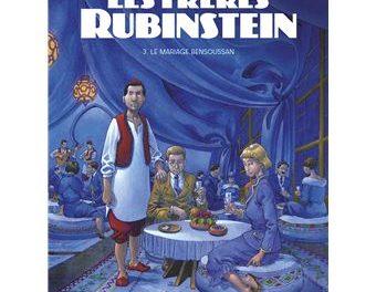 couverture Les frères Rubinstein t3