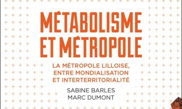 Métabolisme et métropole – La métropole lilloise entre mondialisation et interterritorialité