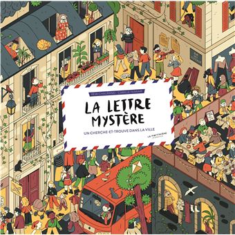 La lettre mystère – Un cherche-et-trouve dans la ville