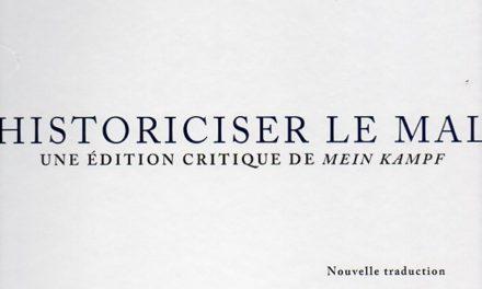 Image illustrant l'article Historiciser le Mal002 de La Cliothèque
