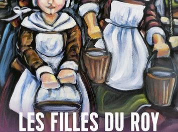 couverture Les Filles du Roy, pionnières de la Seigneurie de Repentigny