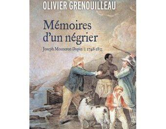 couverture Mémoires d'un négrier