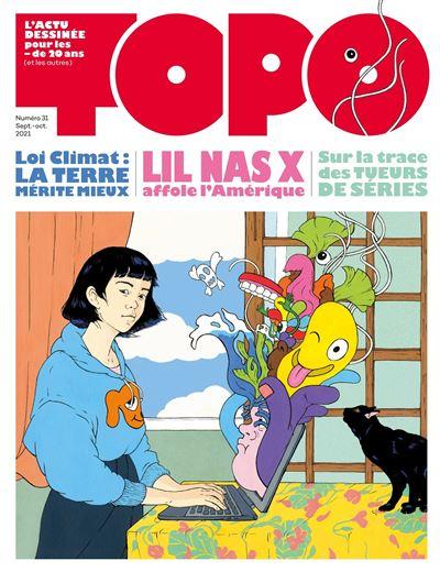 Topo 31, l'actu dessinée pour les moins de vingt ans (et les autres)