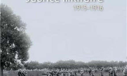 Justice militaire 1915-1916